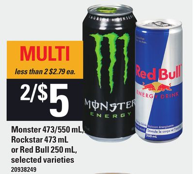 Find the Best Deals for monster-drinks in Dieppe, NB | Flipp