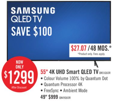 Find the Best Deals for samsung-tv-55 in Swift Current, SK