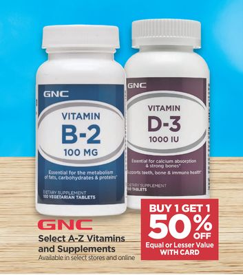 Find the Best Deals for gnc in Norwell, MA | Flipp