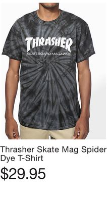 c3635b8e8daa Thrasher Skate Mag Spider Dye T-Shirt