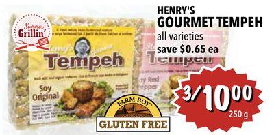 HENRY'S GOURMET TEMPEH