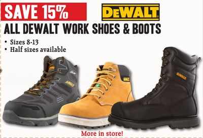 818d25ff70c Find the Best Deals for work-shoes in Owen Sound, ON | Flipp