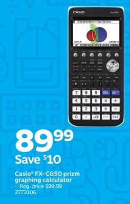Casio Fxcg50 Prizm Graphing Calculator Houston Texas