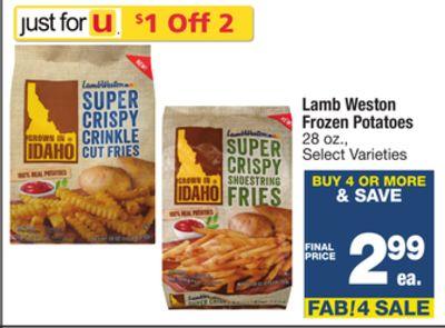 Find The Best Deals For Frozen Potatoes In Doyline La Flipp