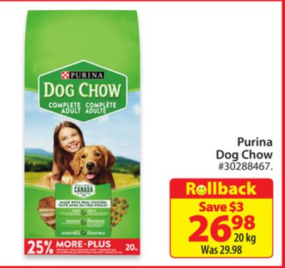 Find the Best Deals for purina-dog in Sussex, NB | Flipp
