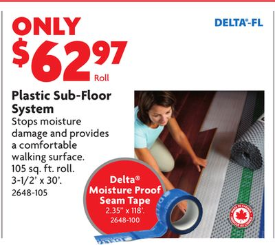 Find the Best Deals for subfloor in Thorold, ON | Flipp