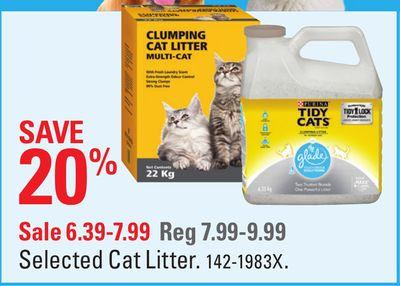 Find the Best Deals for cat-litter in Squamish, BC | Flipp