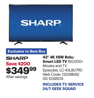 Find the Best Deals for smart-led-tv in Saskatoon, SK | Flipp