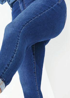 1c421f7f1 Plus Size Everflex™ High Rise Medium Stretch Skinny Jeans