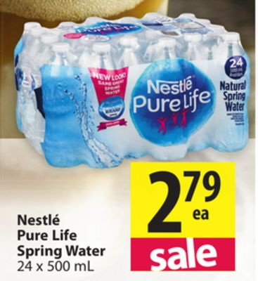 Find the Best Deals for water* in Salt Spring Island, BC | Flipp