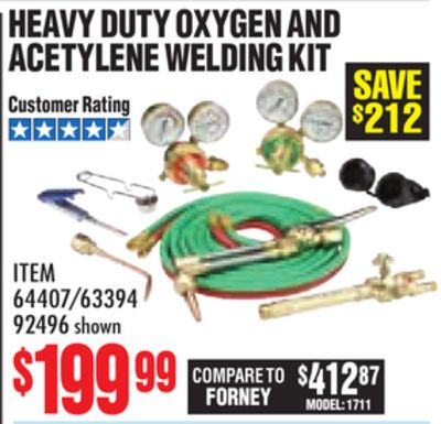 Oxygen And Acetylene Tanks Harbor Freight