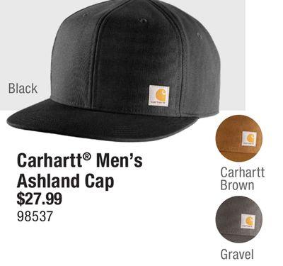 ab51b193b Get Carhartt® Men's Ashland Cap for $27.99 in Edmonton | Flipp