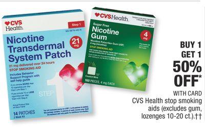 Get CVS Health stop smoking aids with $ in Phoenix | Flipp