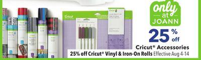 Get Cricut® Accessories Cricut® Vinyl & Iron-On Rolls with