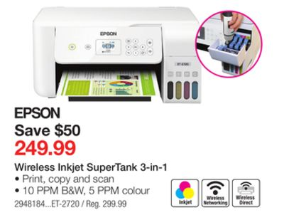 Find the Best Deals for epson in Dawson Creek, BC | Flipp