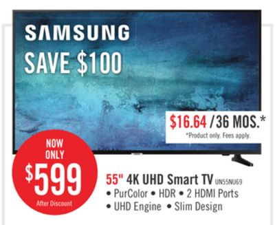 Find the Best Deals for samsung-tv-55 in Grimsby, ON   Flipp