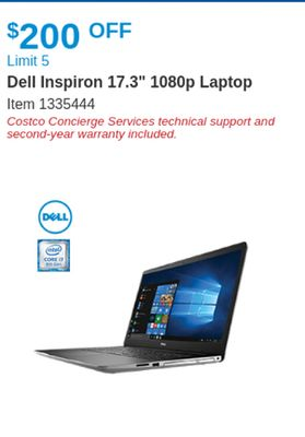 Get Dell Inspiron 17 3 1080 Laptop with $ in Fort Worth | Flipp