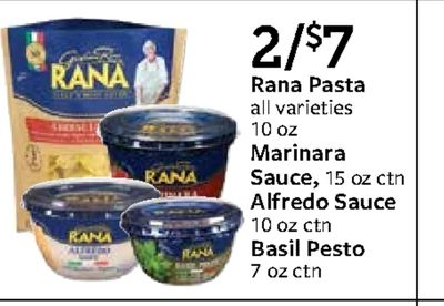 Get Ge 2/$7 RANA Rana Pasta E: all varieties SHEE 10 OZ