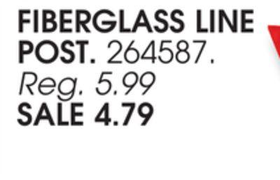 Buy FIBERGLASS LINE POST in Chicago   Flipp