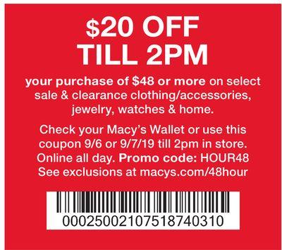 Macy's 48 Hour Sale - Houston Circulars | Flipp