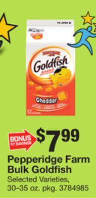 Pepperidge Farm Bulk Goldfish Washington District Of Columbia