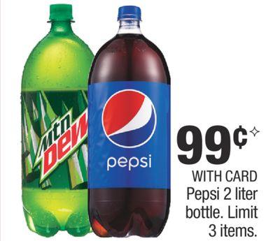 Buy Pepsi 2 liter bottle  in Madison | Flipp