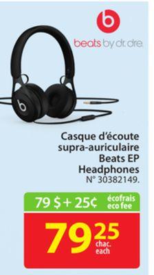 Beats By Dr Dre Beats Ep Headphones Laval Quebec