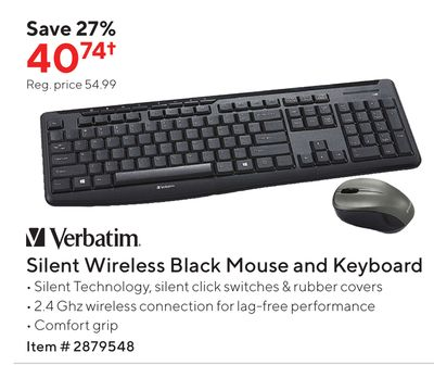 Trouvez Des Rabais Sur Wireless Keyboard And Mouse A