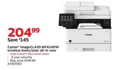 Buy Canon® imageCLASS MF424DW wireless mono laser all-in-one