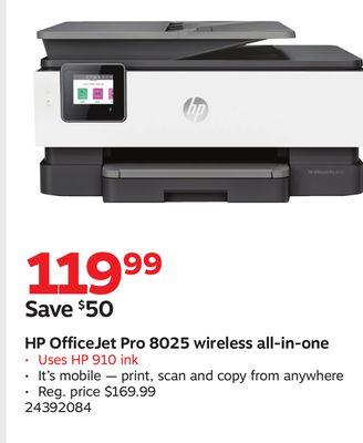 Buy HP OfficeJet Pro 8025 wireless all-in-one in Austin | Flipp