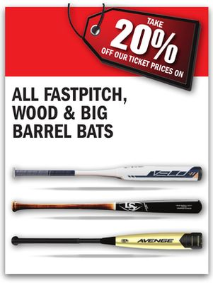 Get All Fastpitch, Wood, & Big Barrel Bats for $ in Ottawa