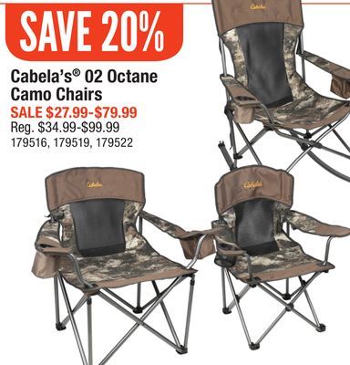 Amazing Buy Cabelas 02 Octane Camo Chairs In Saskatoon Flipp Gmtry Best Dining Table And Chair Ideas Images Gmtryco