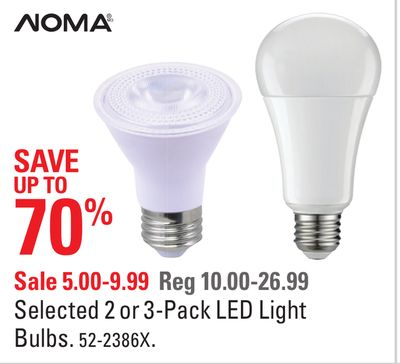 led light bulb coupon canada