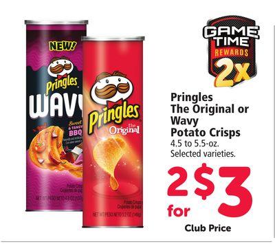 Buy Pringles The Original or Wavy Potato Crisps in Denver