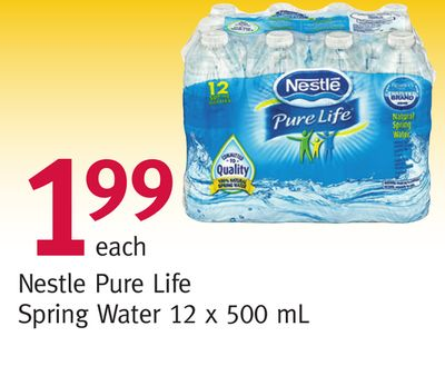 Buy Nestle Pure Life Spring Water in Winnipeg | Flipp