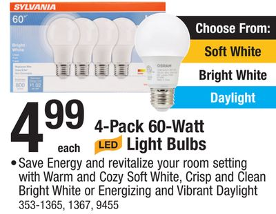 Find The Best Deals For Light Bulbs In Twin Lakes Wi Flipp