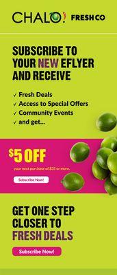 Chalo FreshCo , Chalo FreshCo weekly flyer - Brampton   Flipp