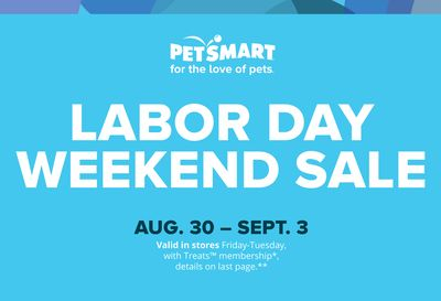 PetSmart, PetSmart Labor Day Weekend Sale - Denver | Flipp