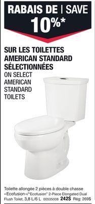 Cool Trouvez Des Rabais Sur American Standard Toilet A Gaspe Qc Uwap Interior Chair Design Uwaporg