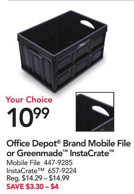 Office Depot/OfficeMax, Office Depot/OfficeMax Weekly