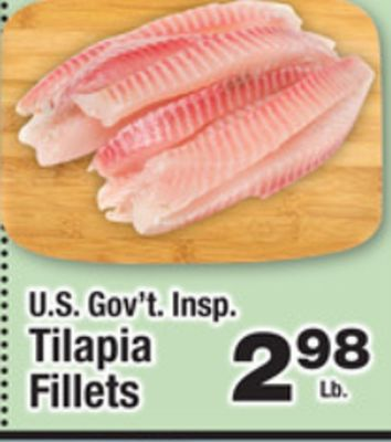 tilapia fish coupons