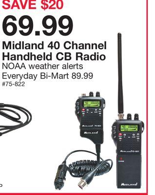 Buy Midland 40 Channel Handheld CB Radio in Seattle | Flipp