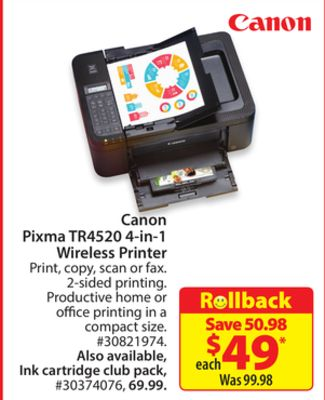 Find the Best Deals for canon-pixma in Dawson Creek, BC   Flipp