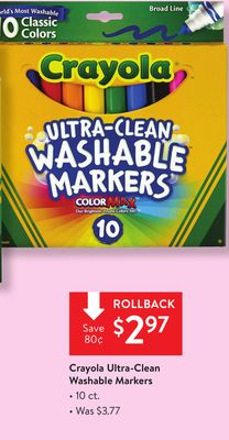 Find The Best Deals For Washable Markers In Sayre Ok Flipp