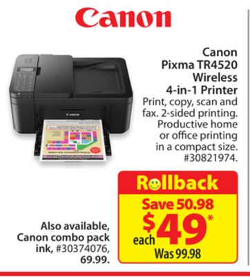 Find the Best Deals for canon-pixma in Squamish, BC | Flipp