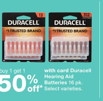 graphic about Duracell Hearing Aid Batteries 312 Coupons Printable known as Locate the Perfect Specials for 50 inside of Beatty, NV Flipp