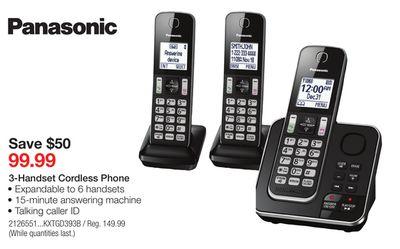 Panasonic KX-TGF352M  DECT 6.0 Corded//Cordless Phone Digital Answering System