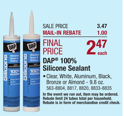Find the Best Deals for sealant in New Prague, MN   Flipp