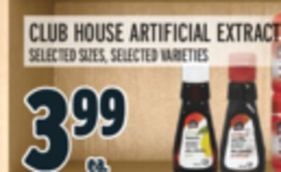 CLUB HOUSE ARTIFICIAL EXTRACT