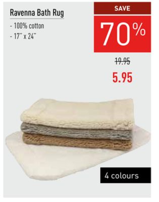 Deals for bath-rugs in Toronto